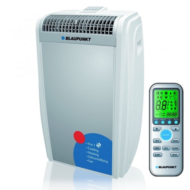 Blaupunkt Moby Blue 1312 Powerful 4-in1 Mobile Air Conditioning Unit