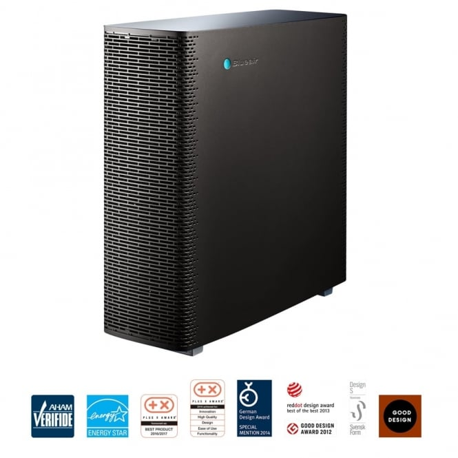 Blueair Sense+  Wi-Fi Connected Air Purifier in Graphite Black with HEPASilent Plus Technology and Smartphone Control