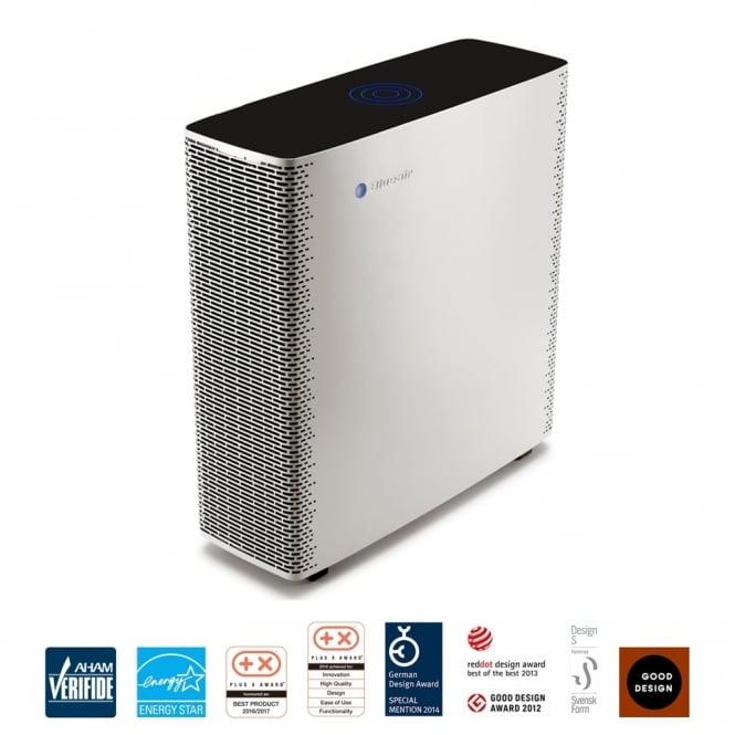 Blueair Sense+  Wi-Fi Connected Air Purifier in Warm Grey with HEPASilent Plus Technology and Smartphone Control