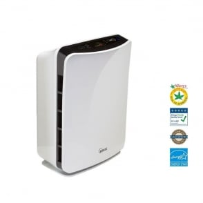P150 True Hepa Room Air Purifier with Air Quality Smart Sensor + Free Spare Filter worth £39.49