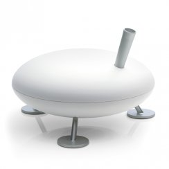 Fred. Designer home air humidifier with germ free technology.