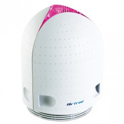 Airfree Iris 60 Air Purifier with touch sensitive colour change technology.
