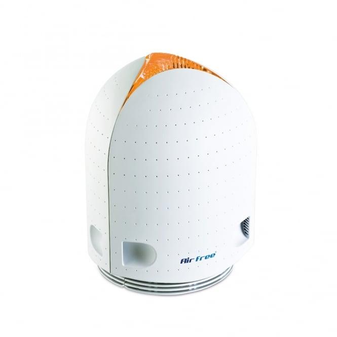 Airfree Iris 40 Air Purifier with touch sensitive colour change technology.