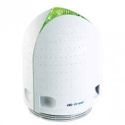 Airfree Iris 80 Air Purifier with touch sensitive colour change technology.