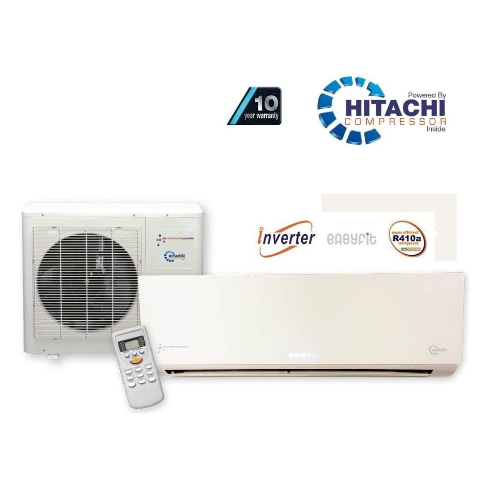 Chigo Chigo KFR53 Super Inverter Wall Mounted Heat and Cool Air Conditioner  with Hitachi Power and optional 10 Year Warranty