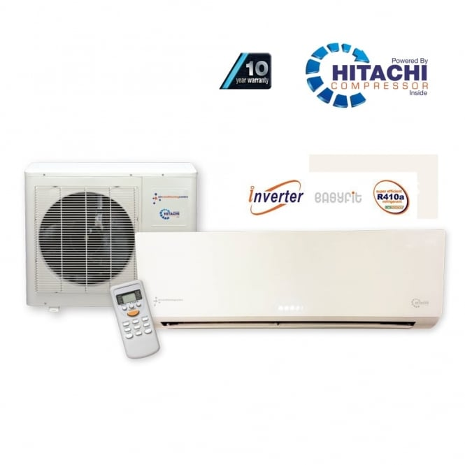 Chigo KFR53 Super Inverter Wall Mounted Heat and Cool Air Conditioner with Hitachi Power and optional 10 Year Warranty