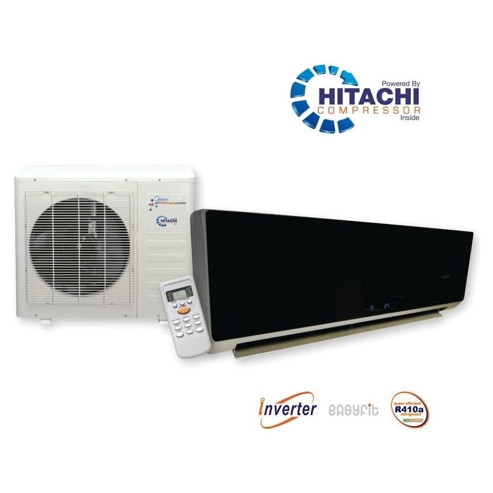 Kfr56 Black Gloss Super Inverter Air Conditioner