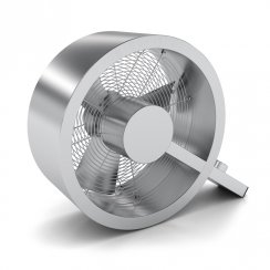 Stadler Form 'Q' Brushed Aluminium Fan