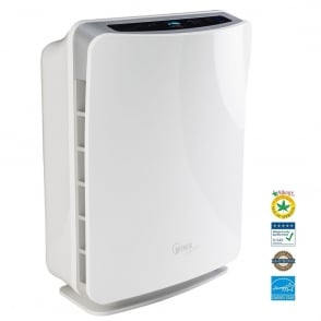 U450 True Hepa Room Air Purifier with Air Quality Smart Sensor and Remote Control + Free Spare Filter worth £89.99